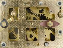 Dentro del reloj Fotografía de archivo libre de regalías