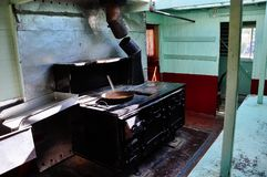 Dentro del S S Sternwheeler del Keno en Dawson City, el Yukón imagenes de archivo