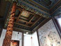 Dentro del salón de té de Dushanbe en Boulder, Colorado fotografía de archivo