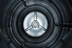 Dentro del secador Imagen de archivo