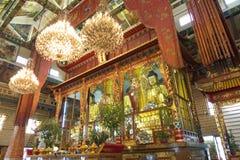Dentro del templo Fotos de archivo