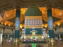 Dentro del templo Fotografía de archivo