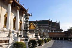 Dentro del templo del oscilación gigante en Bangkok Fotografía de archivo