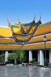 Dentro del templo del oscilación gigante en Bangkok Foto de archivo libre de regalías