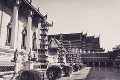 Dentro del templo del oscilación gigante en Bangkok Imagen de archivo