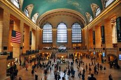 Dentro del terminal de Grand Central en New York City imágenes de archivo libres de regalías