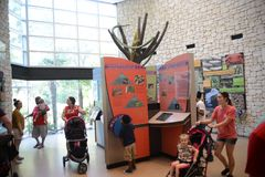 Dentro del Texarkana Texas Welcome Center fotos de archivo libres de regalías