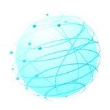 Dentro del Web - concepto del mundo ilustración del vector