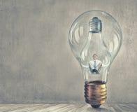 Dentro dell'idea Immagini Stock Libere da Diritti