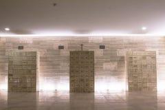 Dentro dell'obelisco Fotografie Stock