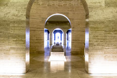 Dentro dell'obelisco Immagine Stock