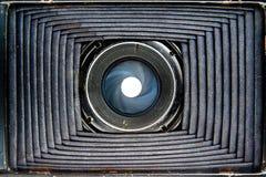 Dentro di vecchia macchina fotografica Immagini Stock Libere da Diritti