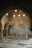 Dentro do Alhambra Imagens de Stock