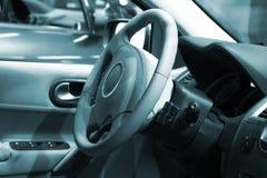 Dentro do carro Fotos de Stock