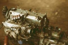 Dentro do carro de motor Imagens de Stock