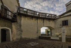 Dentro do castelo de Kojsko fotografia de stock