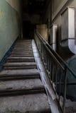 Dentro do central elétrica abandonado Fotos de Stock Royalty Free