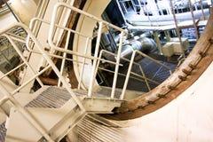 Dentro do central nuclear Imagens de Stock Royalty Free