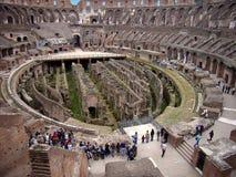Dentro do Colosseum - 3 Imagens de Stock