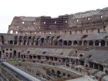 Dentro do Colosseum - a Roma Imagem de Stock