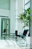 Dentro do escritório moderno Foto de Stock Royalty Free