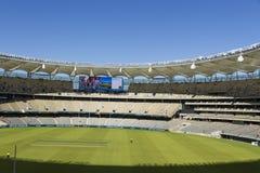 Dentro do estádio de Optus em Perth, Austrailia Foto de Stock