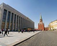 Dentro do Kremlin de Moscou, Moscou, cidade federal do russo, Federação Russa, Rússia fotos de stock royalty free