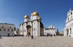 Dentro do Kremlin de Moscou, Moscou, cidade federal do russo, Federação Russa, Rússia imagem de stock royalty free