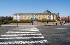 Dentro do Kremlin de Moscou, Moscou, cidade federal do russo, Federação Russa, Rússia foto de stock