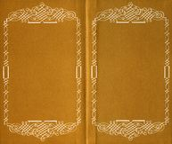 Dentro do livro velho Fotos de Stock