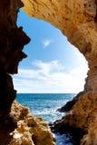 Dentro do mainsail Imagem de Stock