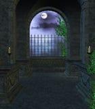 Dentro do mausoléu Foto de Stock
