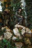 Dentro do museu da revolução em Havana, Cuba Imagem de Stock