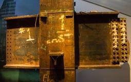 Dentro do museu do 11 de setembro imagem de stock royalty free