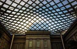 Dentro do pátio de Kogod em National Portrait Gallery em W Foto de Stock