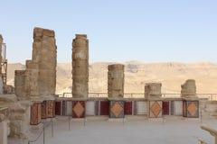 Dentro do palácio do Herod Fotos de Stock Royalty Free