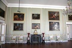 Dentro do palácio de Rectorâs em Dubrovnik. Croatia. Fotos de Stock