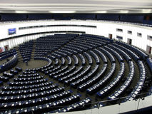 Dentro do parlamento Imagens de Stock Royalty Free
