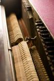 Dentro do piano Imagem de Stock