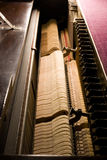 Dentro do piano Fotos de Stock