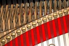 Dentro do piano Imagens de Stock Royalty Free