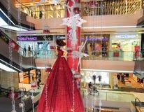 Dentro do shopping de Vincom Foto de Stock Royalty Free