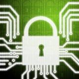 Dentro do sistema de segurança Fotografia de Stock Royalty Free