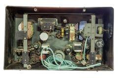 Dentro do transistor velho imagem de stock royalty free