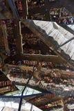 Dentro dos dels Encants de Mercat, Espanha Fotos de Stock Royalty Free