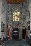 Dentro il campanile fotografia stock