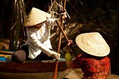 Dentro il delta del Mekong della mangrovia, il Vietnam Immagine Stock Libera da Diritti