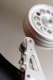 Dentro il drive del hard disk Fotografia Stock Libera da Diritti