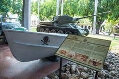 Dentro il museo della rivoluzione a Avana, Cuba Fotografia Stock