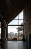 Dentro il museo di arte di South Bend Fotografie Stock Libere da Diritti